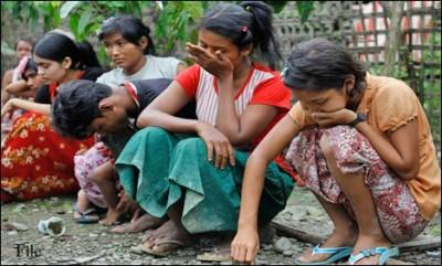 Barmi Muslim  Worried