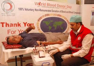 Blood Donation in Pakistan