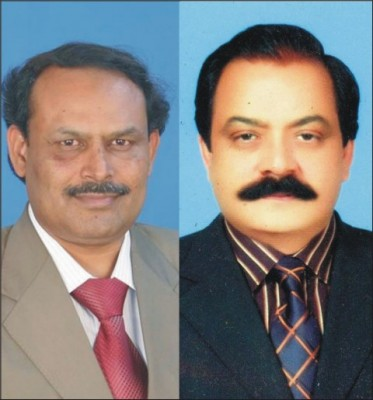 Ch imran kainth And Rana Sanaullah