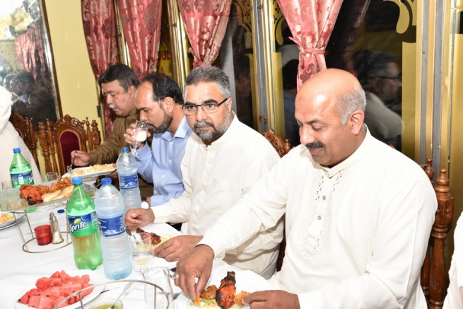 Chaudhary Munir Ahmed,Iftar Dinner
