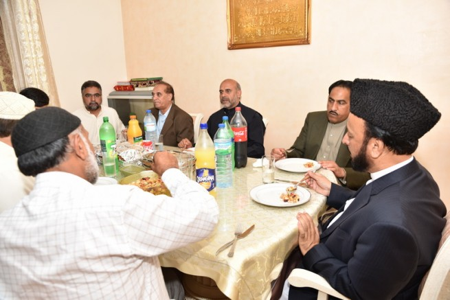 Chaudhry Mohammad Afzal,Lunch