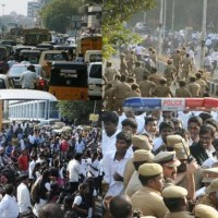 Chennai Students Protest