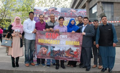 Demonstration and Rohingya Solidarity Campaign