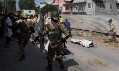India Police Attack