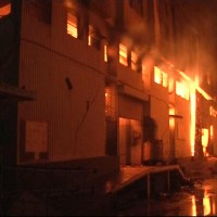 Karachi Plastic Warehouse Fire
