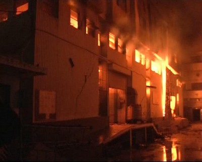 Karachi Plastic Warehouse Fire