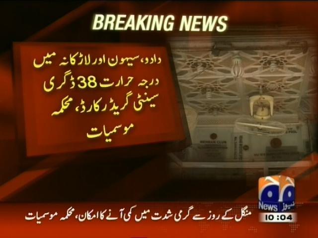 Karachi Temperature– Breaking News – Geo