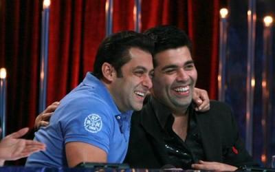 Karan Johar and Salman Khan