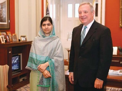 Malala And World Bank President