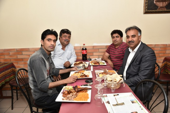 Munir Ahmad Chaudhry,lunch