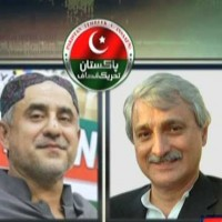 Nadir Laghari and Jahangir Tareen