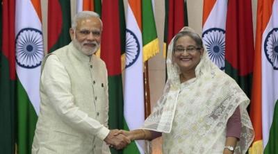 Narendra Modi and Sheikh Hasina