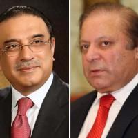 Nawaz Sharif And Asif Ali Zardari