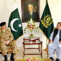 Nawaz Sharif And Raheel Sharif Meeting
