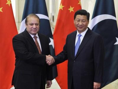 Nawaz Sharif and Xi Jinping