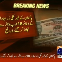 Pakistan Foreign Currency Reserves– Breaking News – Geo