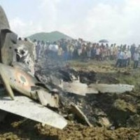 Plane Fall Destroyed