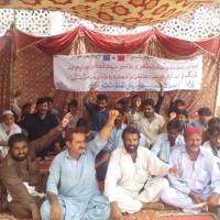 Press Club Protest