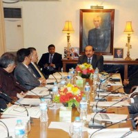 Qaim Ali Shah Chaired Meeting