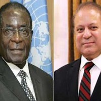 Robert Mugabe and Nawaz Sharif