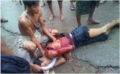 Rohingya Massacre