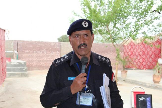 SHO Ch Amjad Gujjar