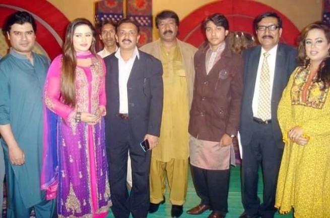 Saifuddin,Moon Pervaiz with Friends