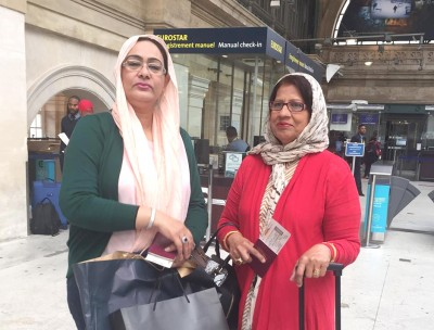 Shagufta Jumani and Shamim Bhutto