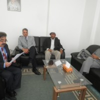 Shakeel Chughtai Led By Community leaders Met Brigadier Ghazali