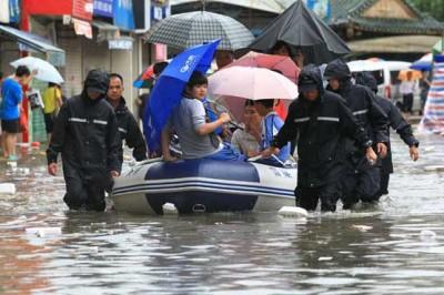 Shanghai Rain Flood