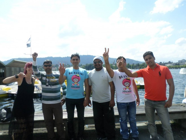 Sheikh Babar,Switzerland Visit
