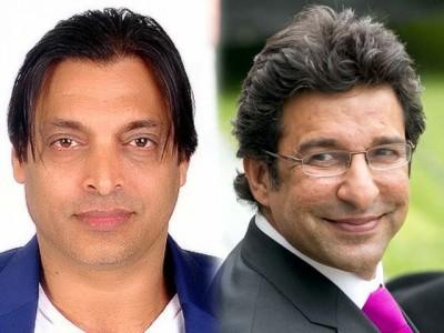 Shoaib Akhtar And Wasim Akram