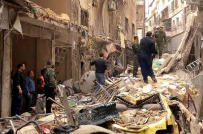 Syria Rebels Attacked