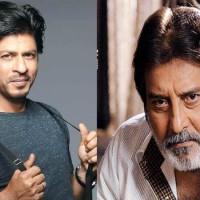 Vinod Khanna and Shahrukh Khan