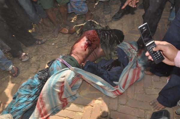 dead Rohingya