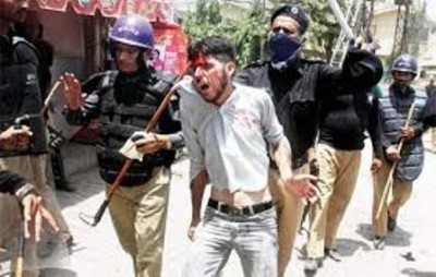 karachi Police Violence