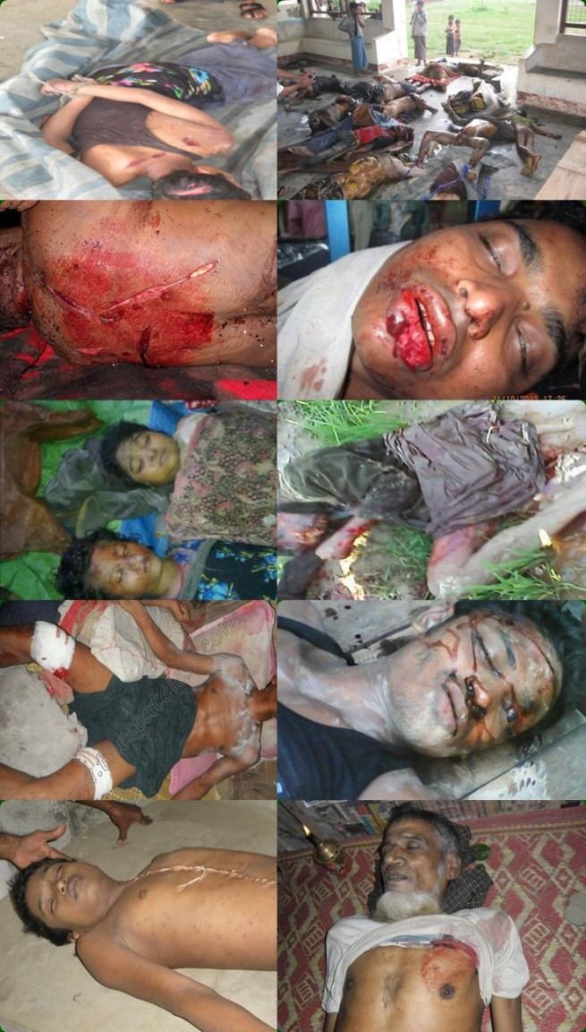 mass killing of Rohingya