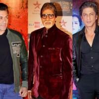 Amitabh Shahrukh And Salman Khan