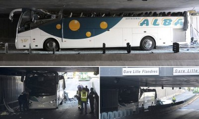 Bus Tunnel Trapped
