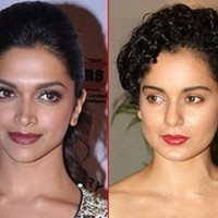 Deepika And kangana