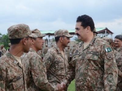 General Raheel Sharif in Waziristan