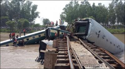 Gujranwala Train Accident
