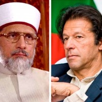 Imran and Tahir ul Qadri