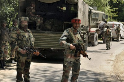 India Army in Kashmir