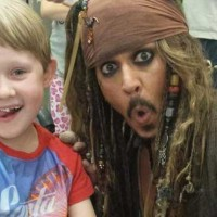 Jack Sparrow With Child