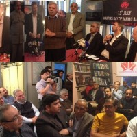 Kashmir Council Organizes Shuhday 13 July Seminars