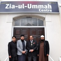 Lord Mayor Ch Abdul Rashid Visit Zia Ul Ummah Centre UK
