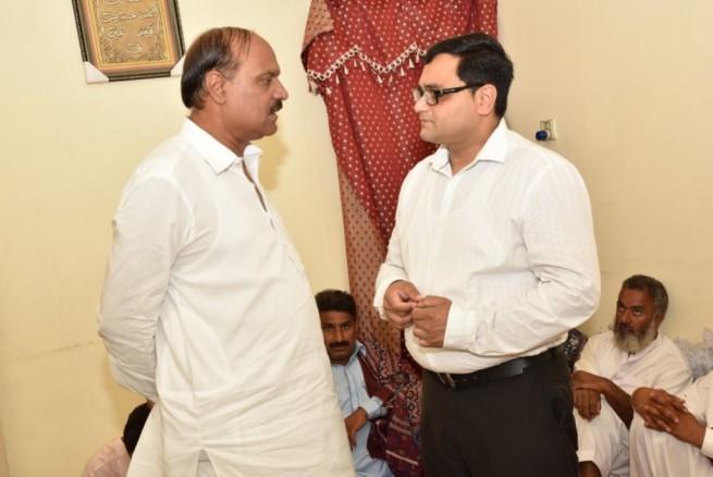 Mian Irfan Siddiq And Ch Irshad Ahmad Gondal