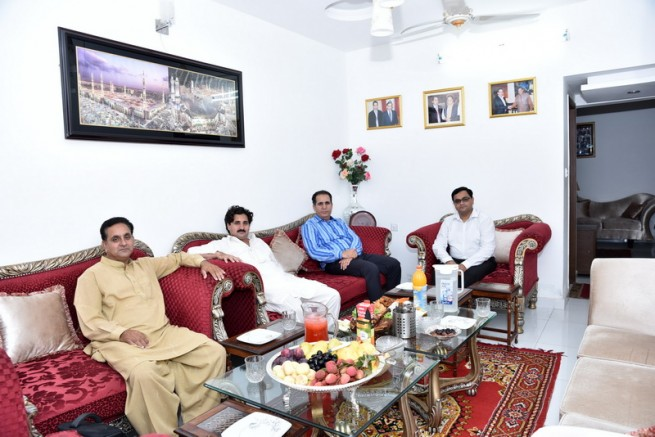Mian Irfan Siddiq Honors Iftar Dinner