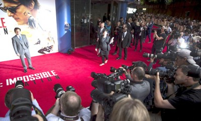 Mission Impossible Rogue Nations Premieres